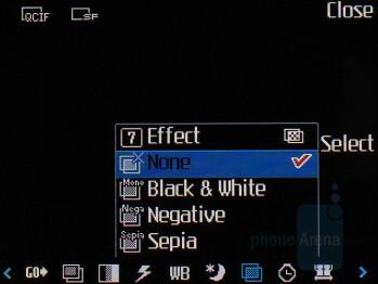 Camcorder interface - LG KU970 Shine Review
