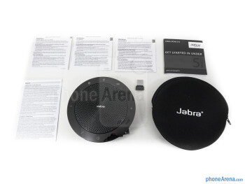 Box and contents - Jabra Speak 510 Review