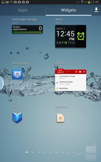 The OS on the Samsung Galaxy Note 8.0 - Samsung Galaxy Note 8.0 vs Google Nexus 7