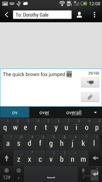 HTC One - Keyboards - Google Nexus 5 vs HTC One