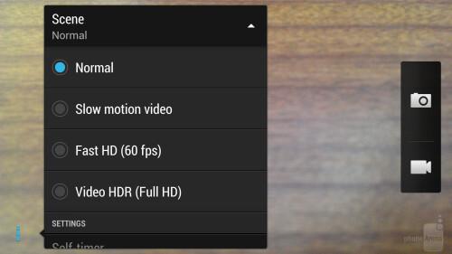 HTC One Camera UI