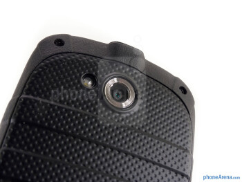 Rear camera - Kyocera Torque Review