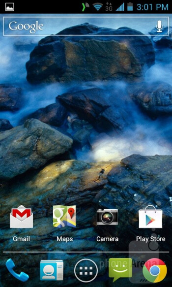 The Kyocera Torque runs on Android 4.0.4 Ice Cream Sandwitch - Kyocera Torque Review