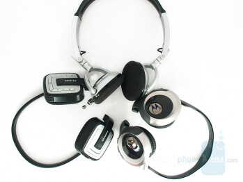 Plantronics 590A, Nokia BH-601, Motorola HT820 - Nokia BH-601 Stereo Bluetooth Headset Review