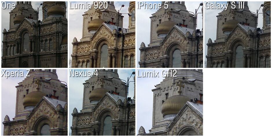 100% Crops - Camera comparison: HTC One vs Nokia Lumia 920 vs Apple iPhone 5 vs Samsung Galaxy S III vs Sony Xperia Z vs Google Nexus 4