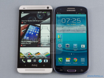 HTC One vs Samsung Galaxy S III