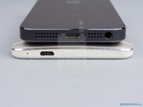 HTC One vs Apple iPhone 5
