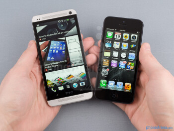 HTC One vs Apple iPhone 5
