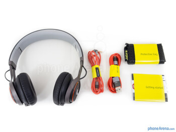 Box and contents - Jabra Revo Wireless Review