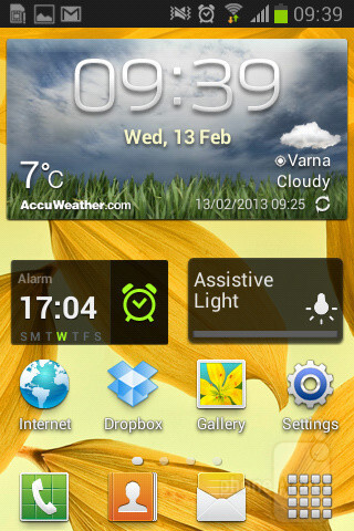 The Samsung Galaxy Fame comes with Android 4.1.2 Jelly Bean - Samsung Galaxy Fame Review