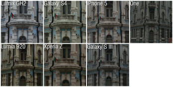 100% Crops - Camera comparison: Samsung Galaxy S4 vs HTC One, Sony Xperia Z,  iPhone 5, Nokia Lumia 920 and Galaxy S III