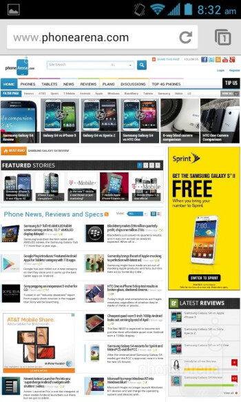 Internet browser - Sprint Force Review