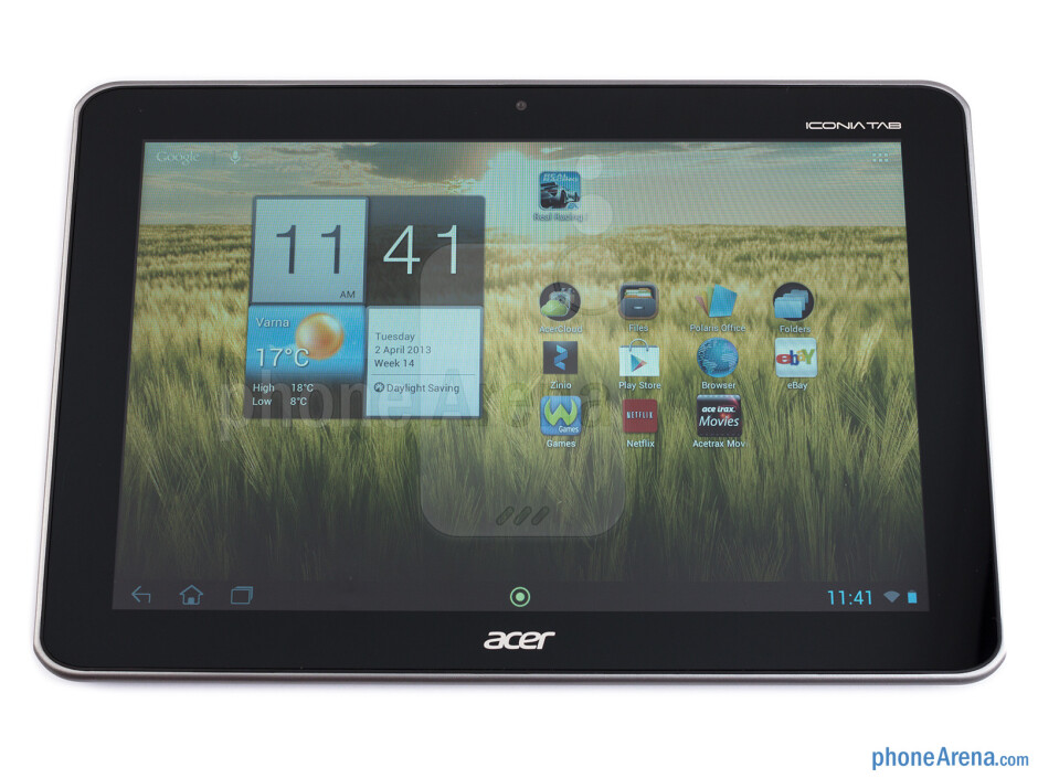 The Acer Iconia Tab A210 is bulky - Acer Iconia Tab A210 Review