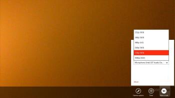 Camera interface - Lenovo IdeaTab Lynx Review