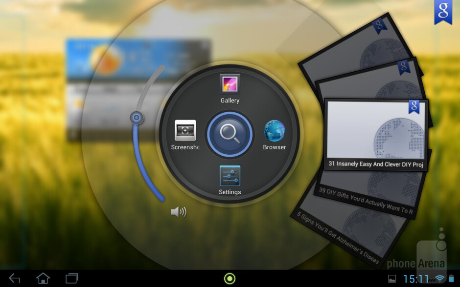 The Acer Iconia Tab runs on 4.1.1 Jelly Bean - Acer Iconia Tab A210 Review