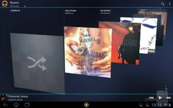 Play Music - Acer Iconia Tab A210 Review