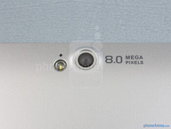 Rear camera - Acer Iconia W511 Review