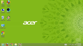 The classic Windows desktop - Acer Iconia W511 Review