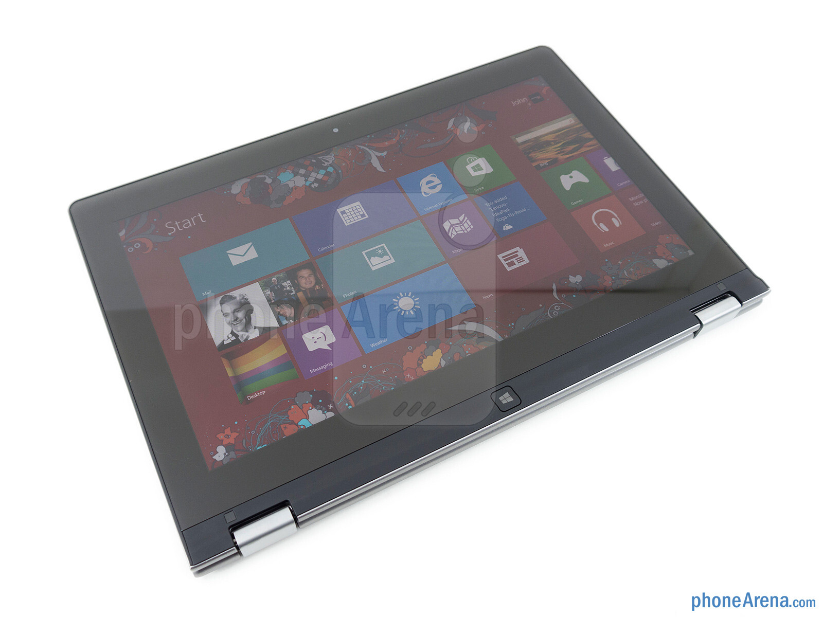 The lenovo ideapad yoga 11 s interesting design is complemented by
