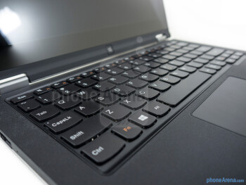 The keyboard of the Lenovo IdeaPad Yoga 11 - Lenovo IdeaPad Yoga 11 Review