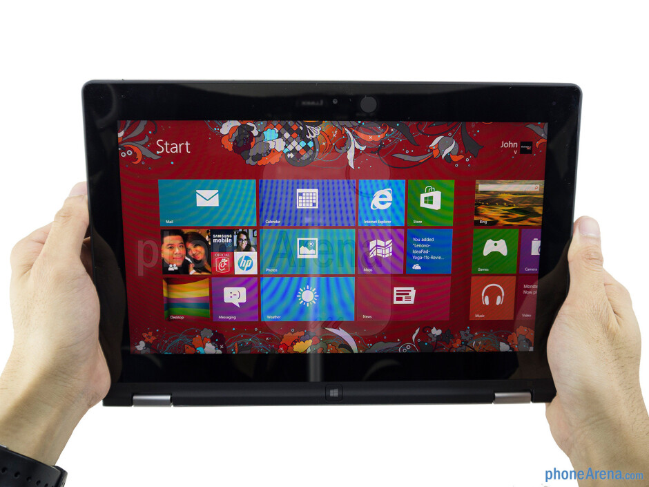 The Lenovo IdeaPad Yoga 11's interesting design is complemented by its sturdy construction - Lenovo IdeaPad Yoga 11 Review