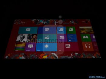 Viewing angles of the Lenovo IdeaPad Yoga 11 - Lenovo IdeaPad Yoga 11 Review