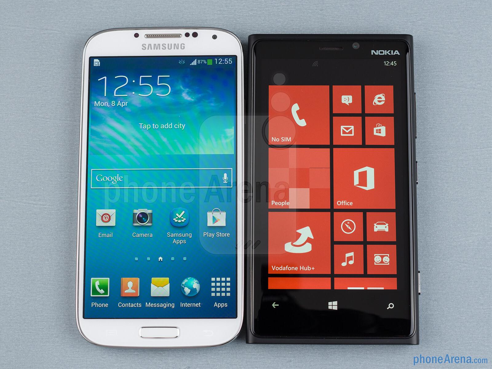 samsung galaxy s4 vs nokia lumia 920 phonearena. Black Bedroom Furniture Sets. Home Design Ideas