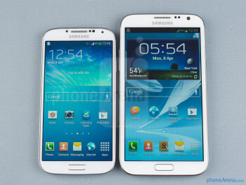 Samsung Galaxy S4 vs Samsung Galaxy Note II