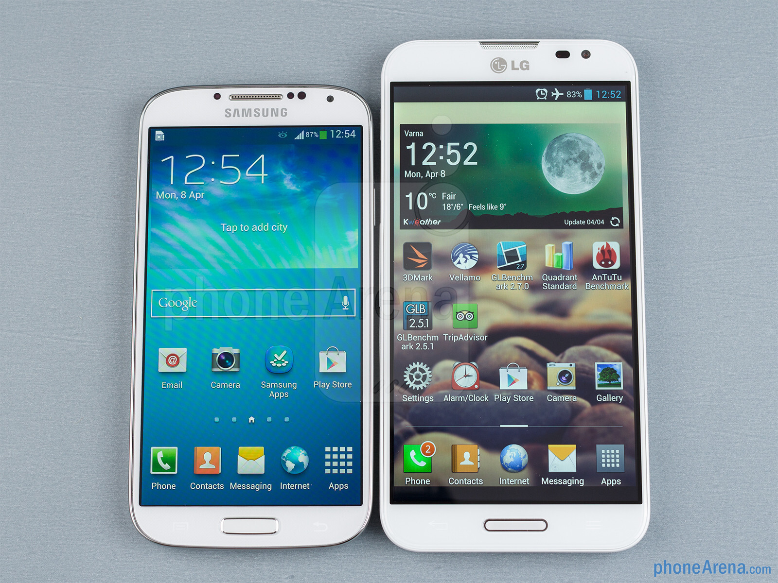 samsung galaxy s4 vs lg optimus g pro rh phonearena com LG Optimus G Pro Driver LG Optimus G Pro Driver