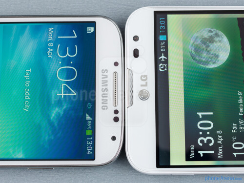 Samsung Galaxy S4 vs LG Optimus G Pro