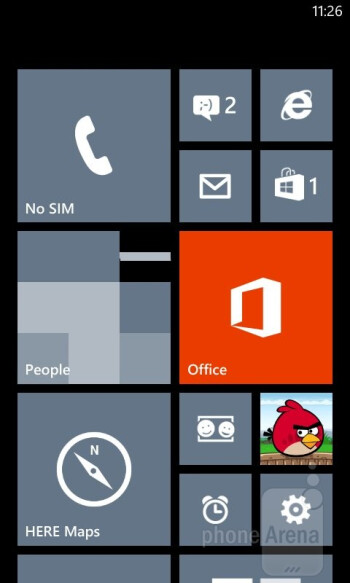 Lumia 520 runs the newest Windows Phone 8 version - Nokia Lumia 520 Review