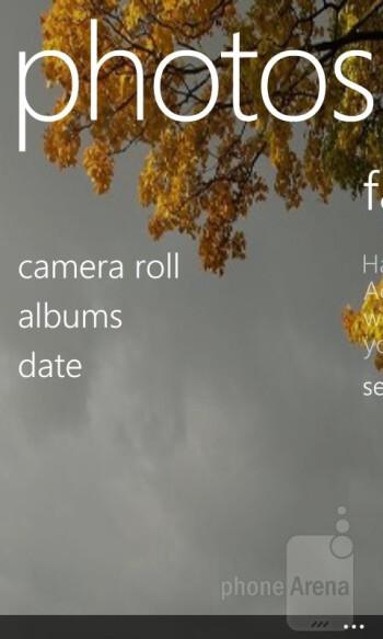 The Photos app - Nokia Lumia 520 Review