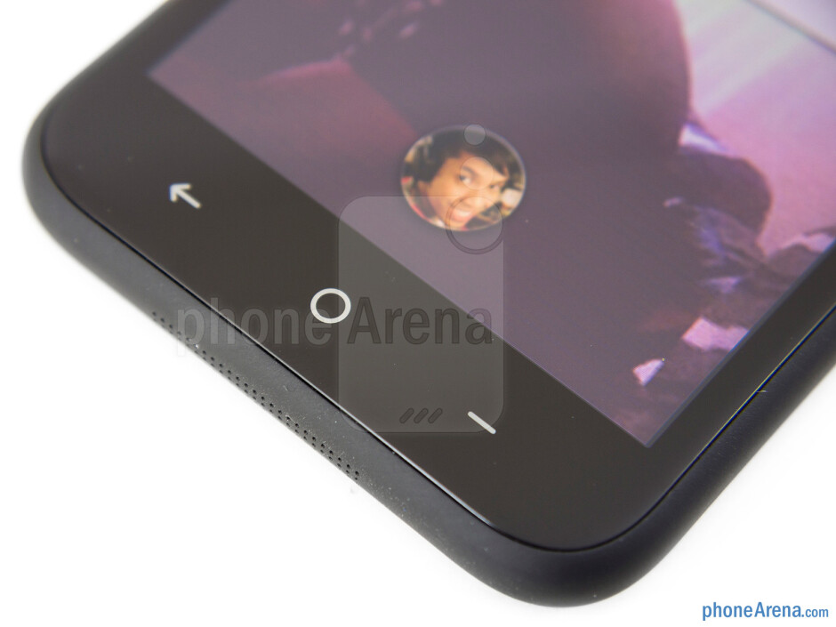 Capacitive buttons - HTC First Review