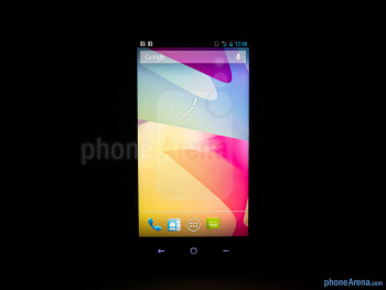 Viewing angles of the HTC First - HTC First Review