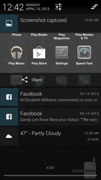Facebook Home replaces the traditional lock/home screen of Android - HTC First Review