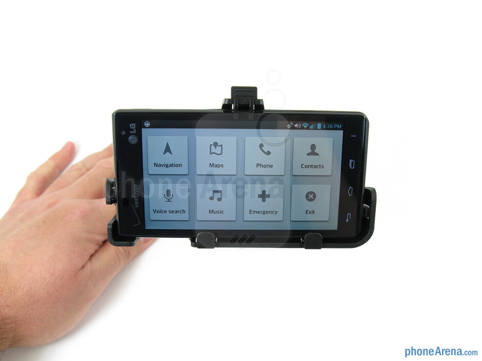 Vehicle mount - LG Lucid 2 Review