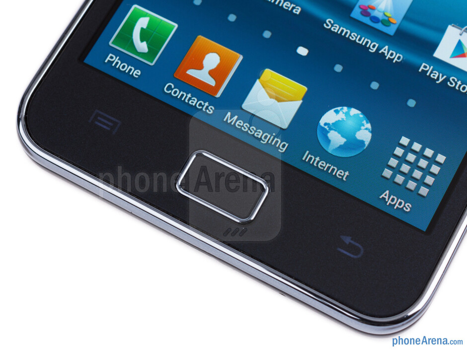 Android keys - Samsung Galaxy S II Plus Review