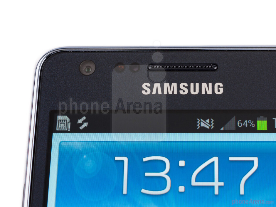 Front camera - Samsung Galaxy S II Plus Review