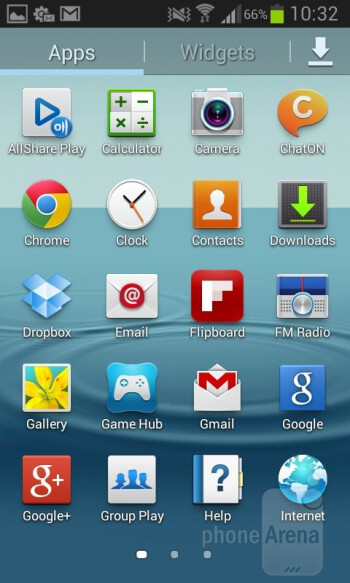 You get Android 4.1.2 Jelly Bean out of the box with the Samsung Galaxy S II Plus - Samsung Galaxy S II Plus Review