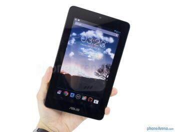 The Asus MeMO Pad mirrors the design of the Nexus 7 - Asus MeMO Pad Review