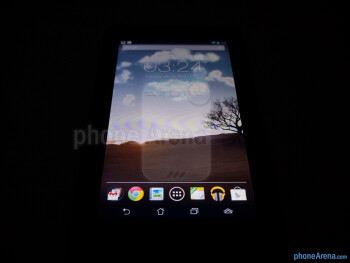 Viewing angles of the Asus MeMO Pad - Asus MeMO Pad Review