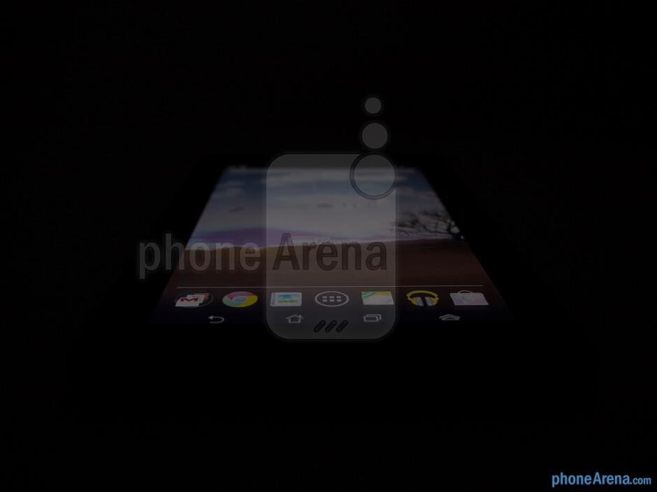 Viewing angles of the Asus MeMO Pad - Asus MeMO Pad Review
