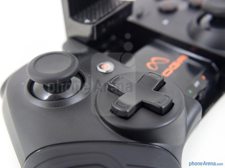 Controls on the Moga Pro - Moga Pro Review