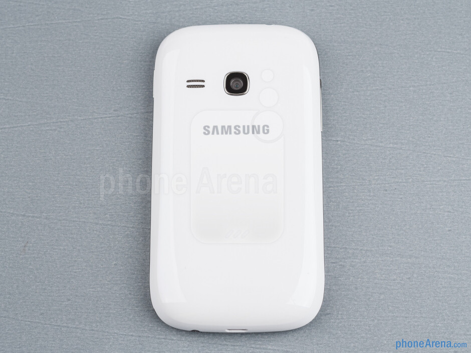 Its a compact little phone with plastic body, available in four color variations - Samsung Galaxy Young Duos Review
