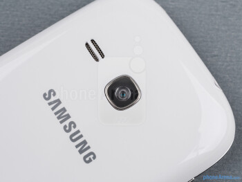 The 3-megapixel camera on the back of the Galaxy Young is very basic - Samsung Galaxy Young Duos Review