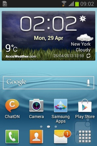 Samsung Galaxy Young runs Android 4.1 Jelly Bean with TouchWiz Nature UX interface on top - Samsung Galaxy Young Duos Review