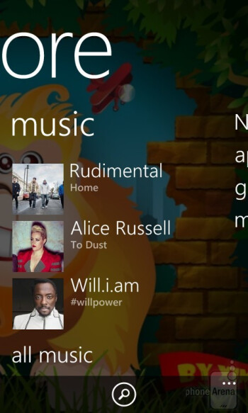 Music player - Nokia Lumia 720 Review