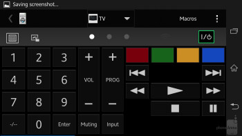 Remote control - Sony Xperia ZL Review