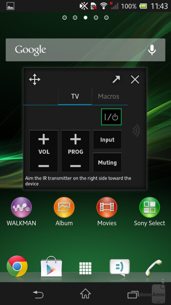 The so called small apps are a handy addition - Sony Xperia ZL Review