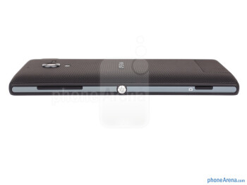 All of the physical keys are on the right - Sony Xperia ZL Review